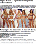 menu regime mannequins victoria secret