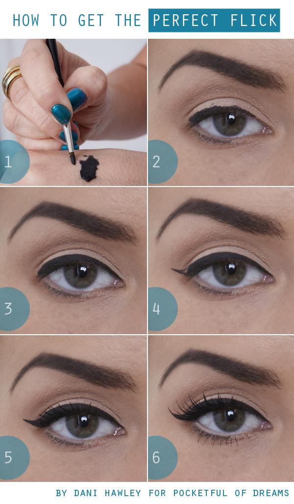tuto make up le trait d eye liner parfait l 39 heureuse imparfaite. Black Bedroom Furniture Sets. Home Design Ideas