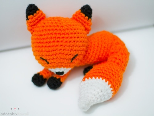 sleeping fox on pinterest