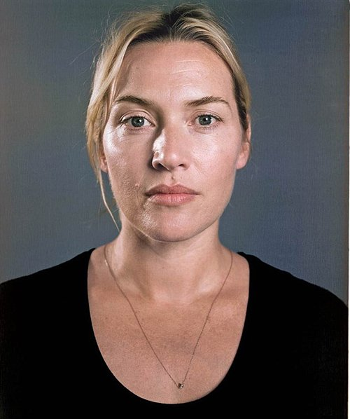 Kate Winslet appeared without makeup