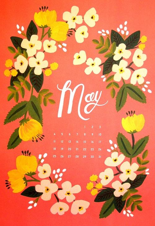 hello may calendar