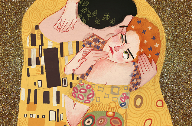 Dixieleota - Art Parady Project - (Klimt, le baiser)